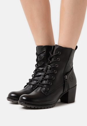 CATHY EVO - Lace-up ankle boots - black