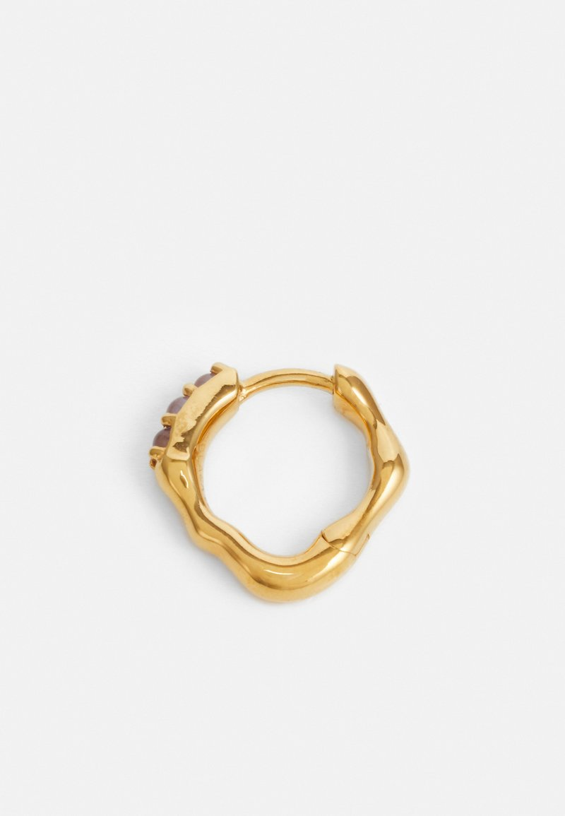 Maria Black - BORDO HUGGIE - Earrings - gold-coloured