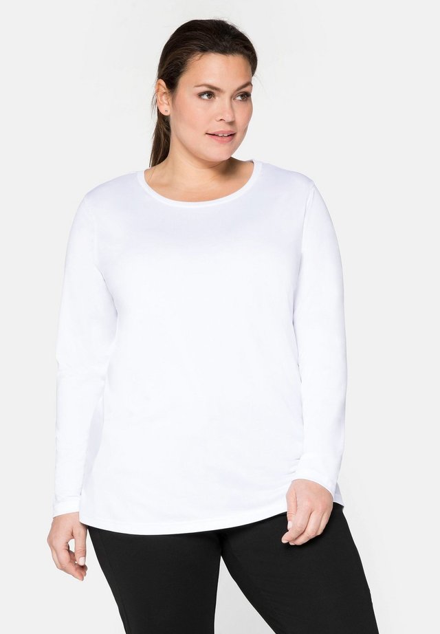 T-shirt sportiva - weiß