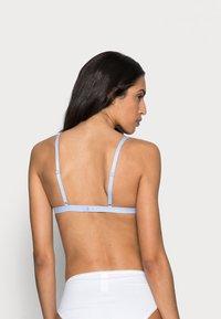 Anna Field - Odessa 2 pack triangle bra - Triangel-BH - white/light blue - 2