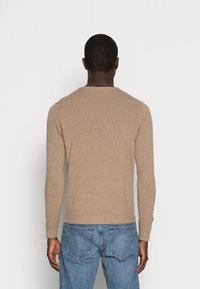 Selected Homme - SLHTOWER CREW NECK  - Stickad tröja - tuffet - 2