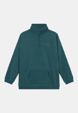 SADIE HALF ZIP  - Fleece jumper - turtle green