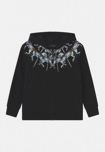 FULL ZIP HORSES - Zip-up sweatshirt - nero