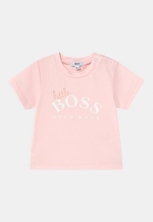 SHORT SLEEVES  - T-shirt con stampa - pinkpale