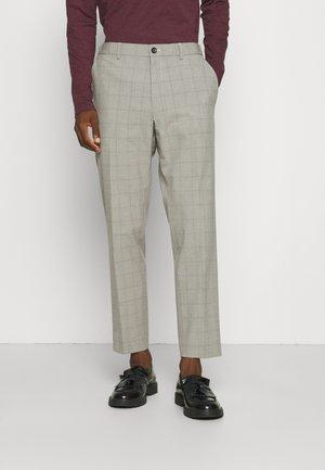PANTS SUIT - Spodnie materiałowe - beige