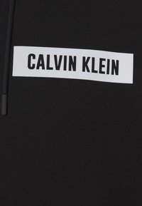 Calvin Klein Performance - HOODIE - Felpa aperta - black - 2