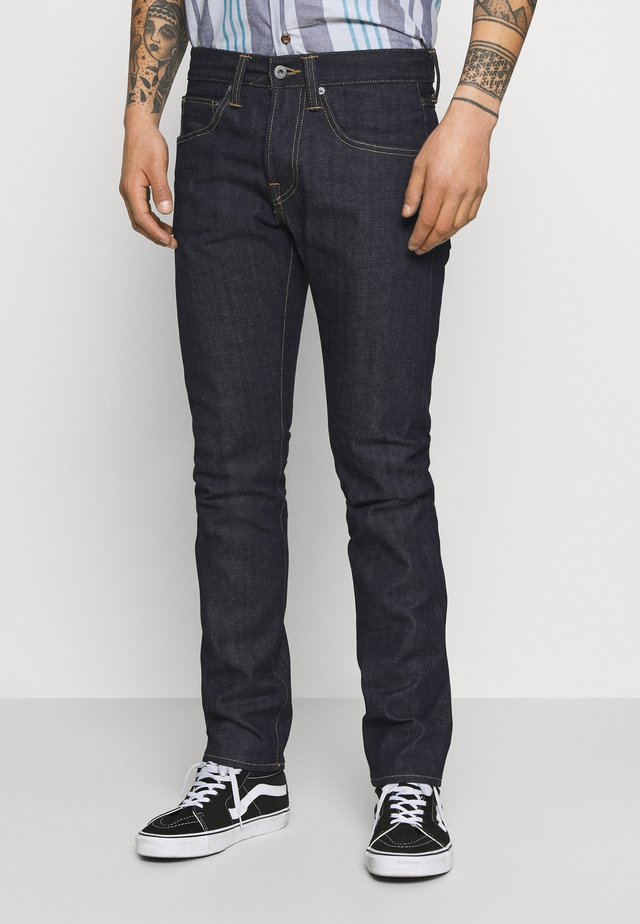 REGULAR  - Straight leg -farkut - dark blue denim