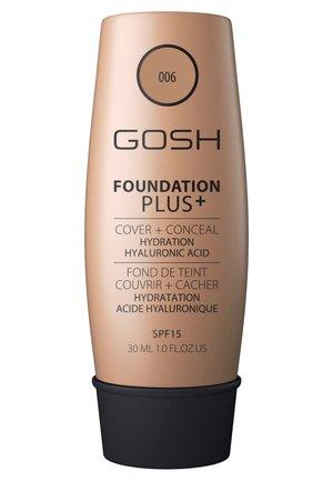 GOSH FOUNDATION PLUS +  - Fondotinta - 006 honey