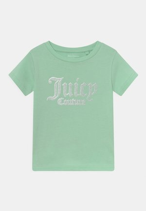 LOGO PRINT TEE - T-shirt print - mist green