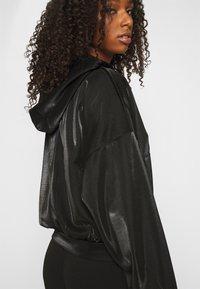 ONLY - ONLCARMEL ZIP HOOD - Zip-up hoodie - black - 5