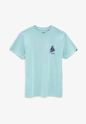 MN IN THE AIR SS - Print T-shirt - turquoise