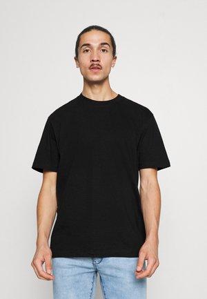 CREW  - Basic T-shirt - true black