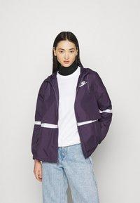 Nike Sportswear - Summer jacket - dark raisin/white - 0