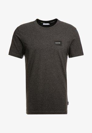 CHEST BOX LOGO STRETCH  - T-shirt - bas - grey