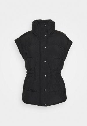 LOLA PUFFER VEST - Waistcoat - black