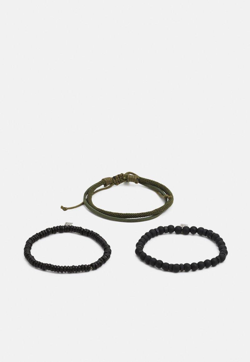 Icon Brand - GROVE BRACELET COMBO 3 PACK - Bracelet - black