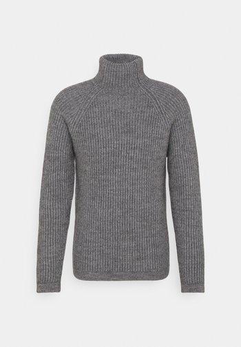 ARVID - Stickad tröja - grau