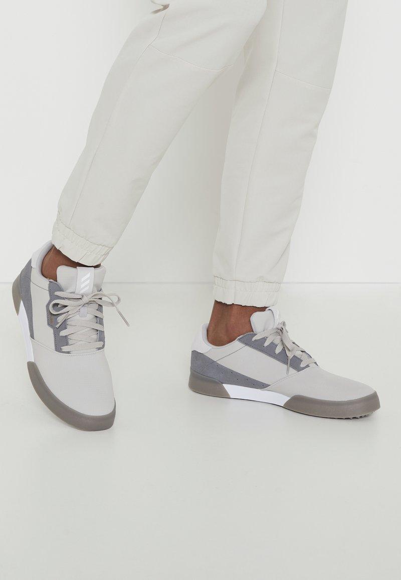 adidas Golf - ADICROSS RETRO RIP - Golfschoenen - grey two/footwear white/grey four
