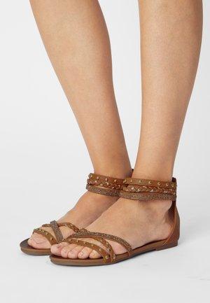 Sandals - medusa sabbia/platino