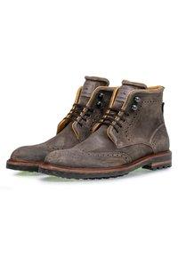 Floris van Bommel - Lace-up ankle boots - taupe - 1