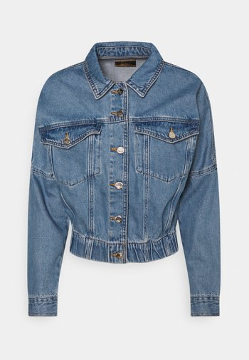 ONLRAVE LIFE JACKET - Denim jacket - medium blue denim