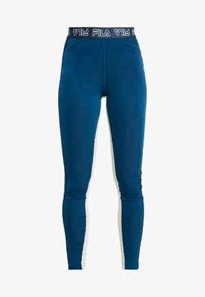 LEGGINGS - Leggings - gibraltar sea/french blue/celosia orange