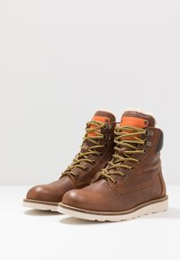 Hip - Lace-up ankle boots - chestnut - 3