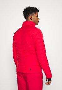 Colmar - Veste de ski - bright red/peacock/black - 3