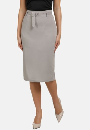 Blyantnederdel / pencil skirts - grey