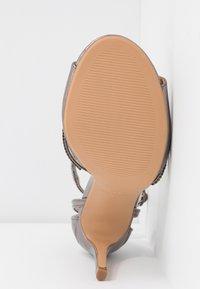 Anna Field - Sandaler med høye hæler - gunmetal - 6