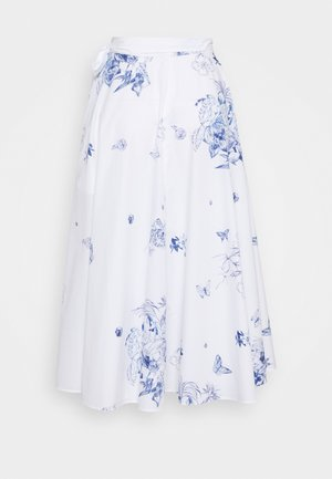 ROYA - A-line skirt - weiß