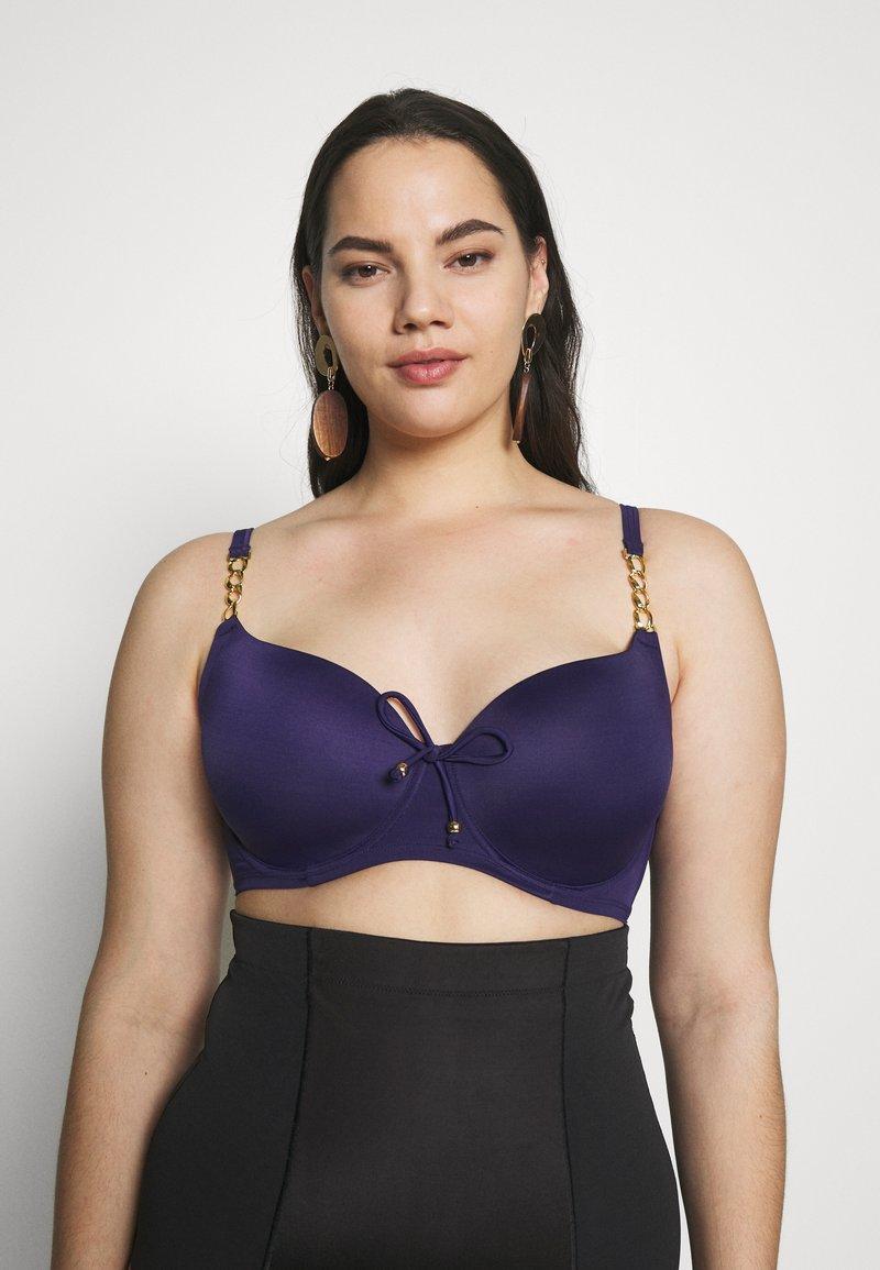 DORINA CURVES - FILAO - Bikini top - ink