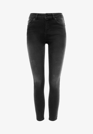 MULTIPLE RIP - Jeans Skinny Fit - blackdenim