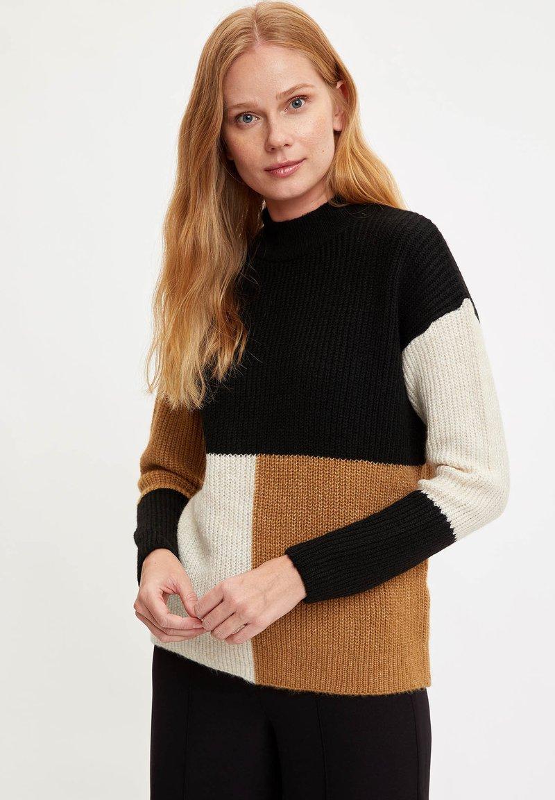 DeFacto Strickpullover - brown/hellbraun OKnswf