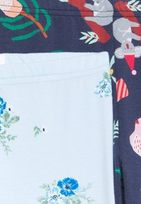 Cotton On - HUGGIE 2 PACK - Legging - indigo/frosty blue - 3