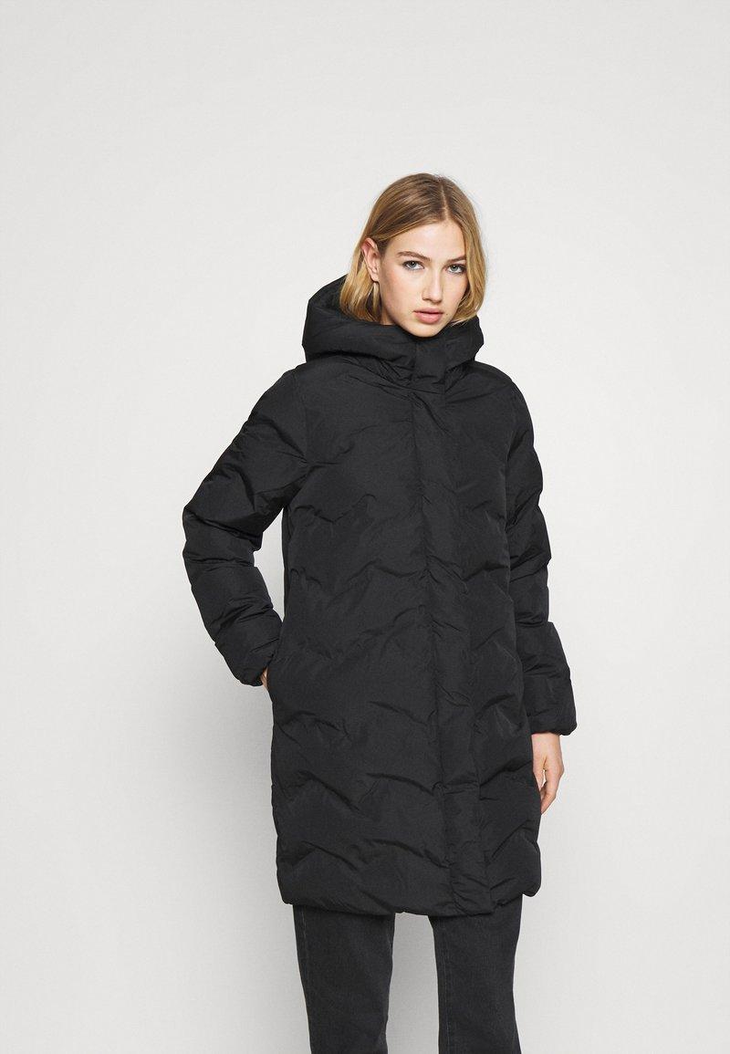 ONLY - ONLLUNA PUFFER COAT - Vinterkåpe / -frakk - black