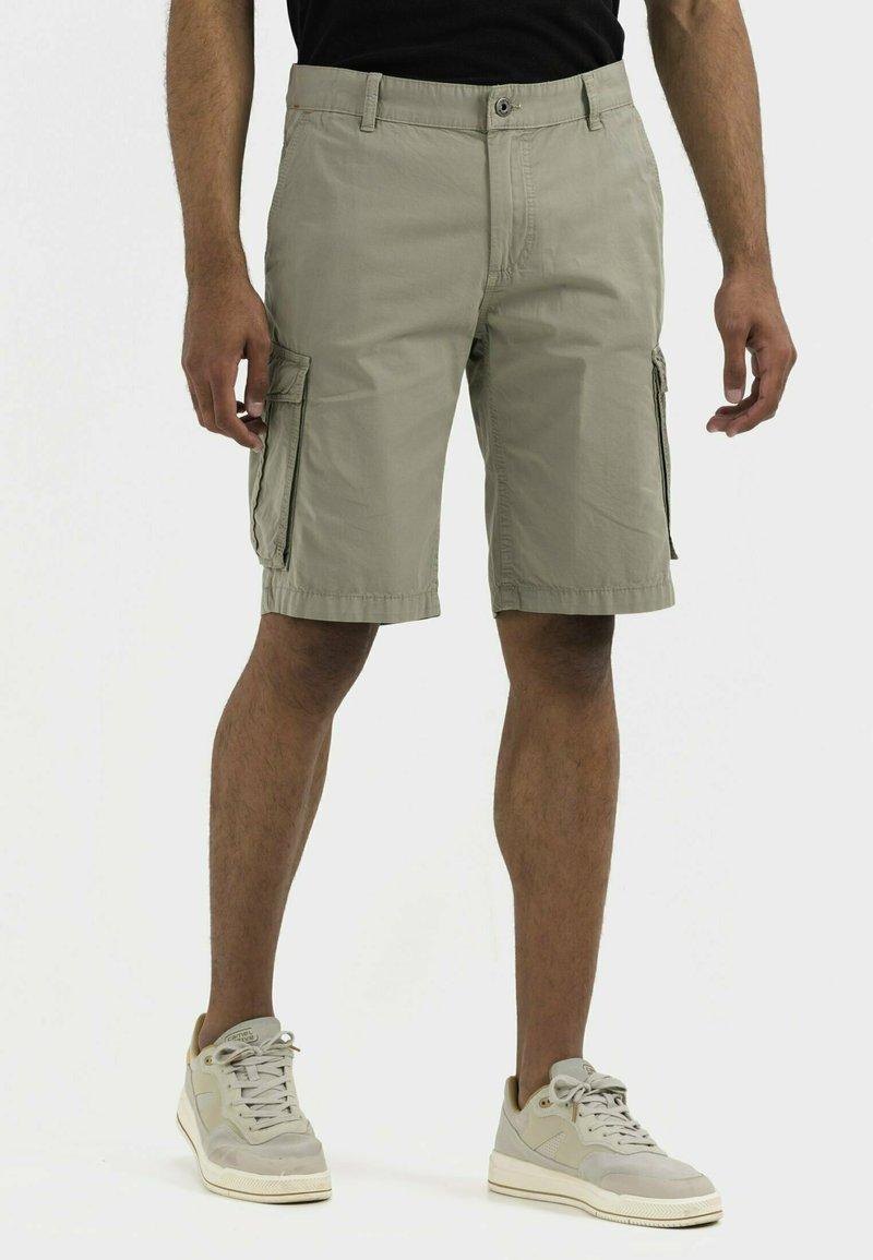 camel active - REGULAR FIT - Shorts - khaki