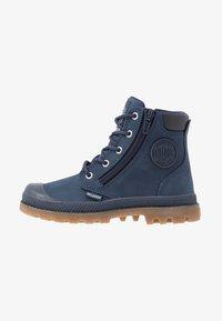 Palladium - HI CUFF WP - Šněrovací kotníkové boty - mood indigo - 1