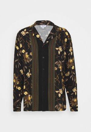 LONGSLEEVE BOARDER SHIRT - Košile - black