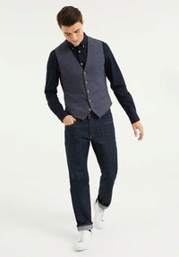 WE Fashion - Gilet - dark blue - 1
