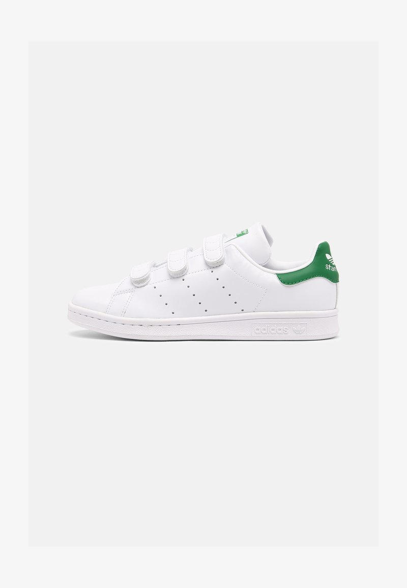 adidas Originals - STAN SMITH UNISEX - Baskets basses - white/green