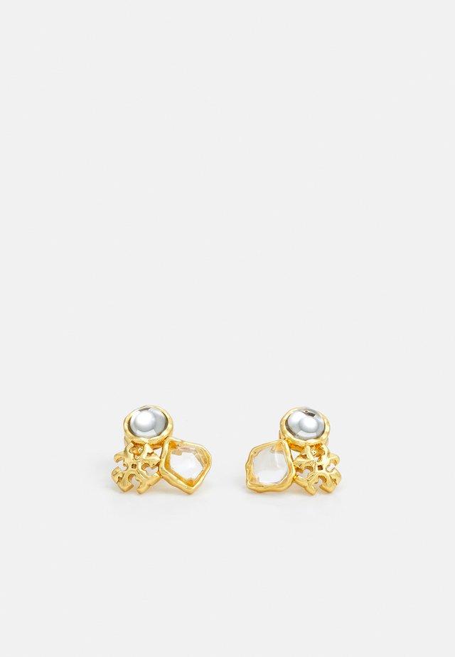ROXANNE CLUSTER STUD EARRING - Orecchini - gold-coloured
