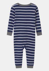 Carter's - WHALE FOOTLESS - Pyjamas - dark blue - 1