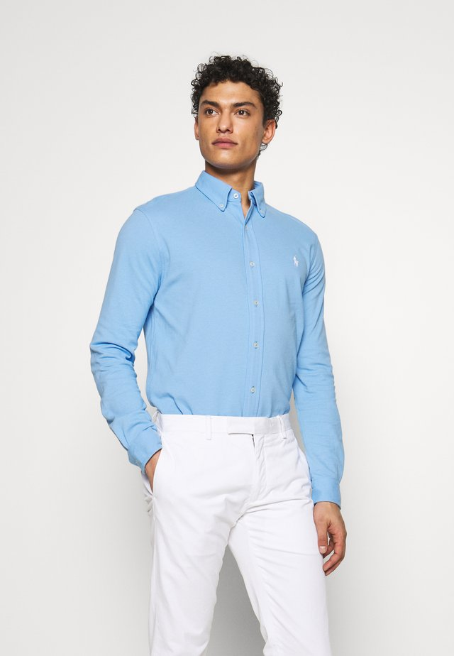 LONG SLEEVE - Camicia - blue lagoon