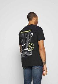 Blood Brother - ALLEN TEE - Print T-shirt - black - 2