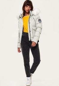 Superdry - EVEREST ELLA - Winter jacket - light grey - 1