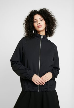 FUNNEL NECK ZIP THROUGH JACKET - Training jacket - black