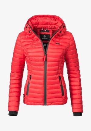 SAMTPFOTE - Light jacket - red