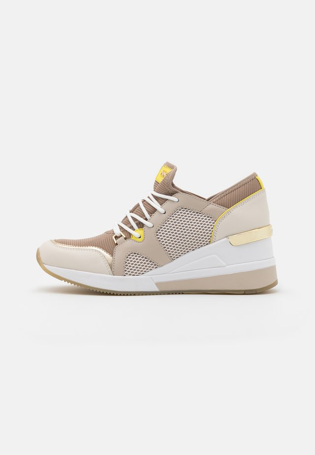 LIV TRAINER - Sneaker low - truffle multicolor