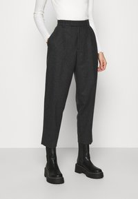 Hope - ALTA TROUSERS - Trousers - grey melange - 0